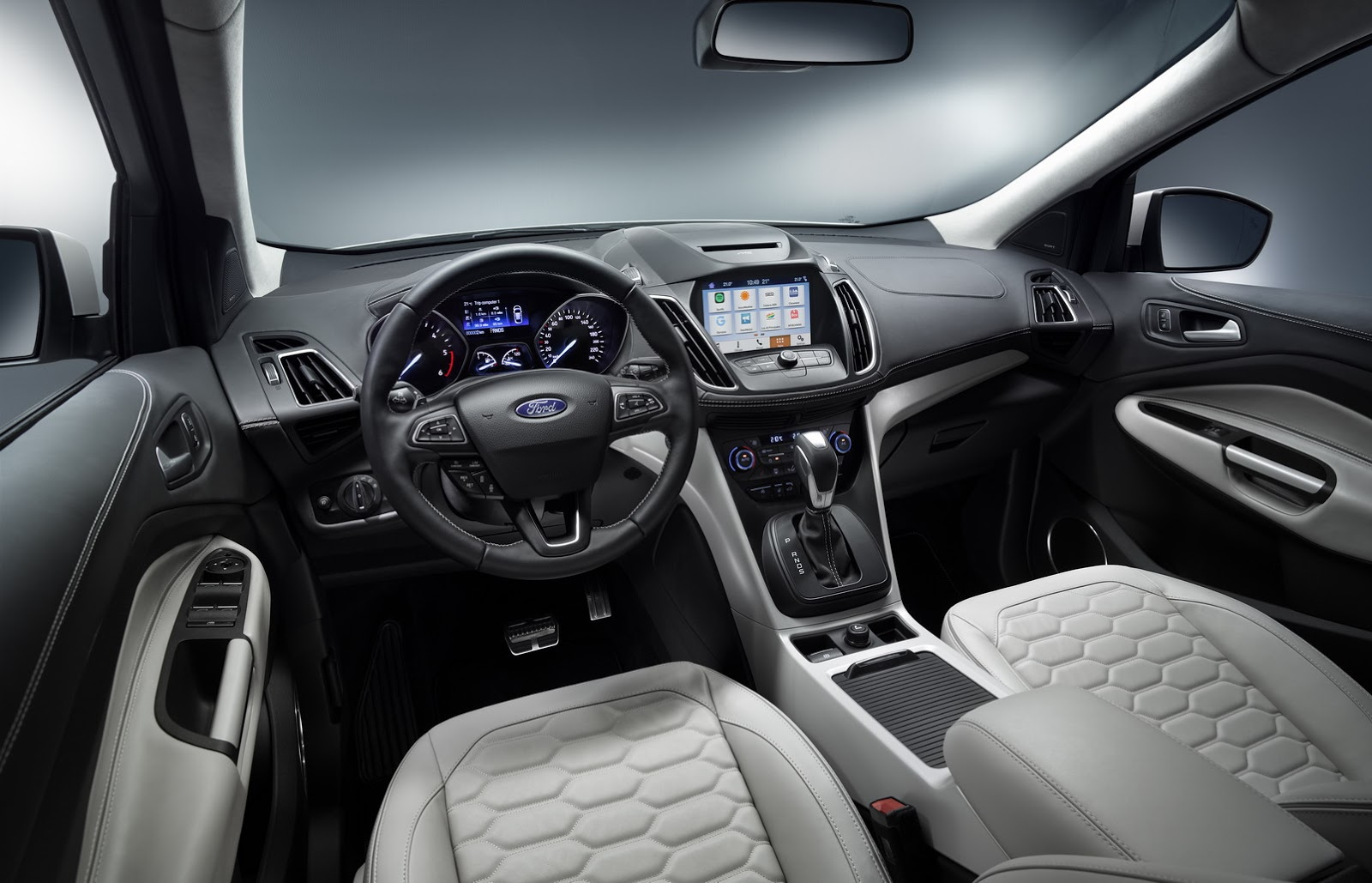 Ford Mondeo 2015 Interior >> Ford Luxes Up Edge, Kuga, Mondeo & S-MAX With Vignale Makeover | Carscoops