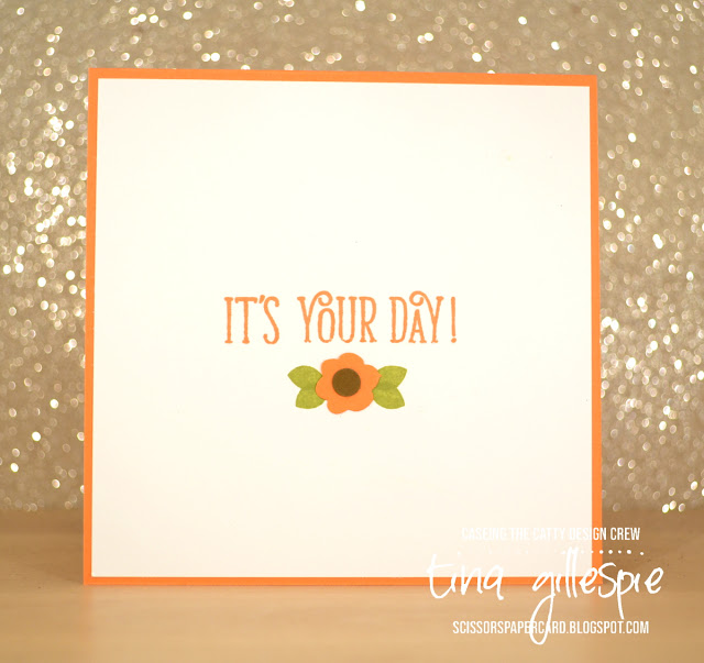 scissorspapercard, Stampin' Up!, CASEing The Catty, Bike Ride, Happy Birthday Gorgeous, Stitched Shapes Framelits, Bitty Blooms Punch Pack