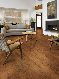 Resilient flooring lets you put the look of wood into any room in your home.