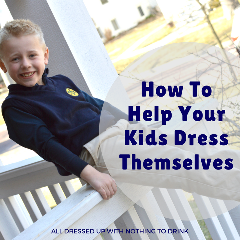 5 Ways to Help Kids Dress Themselves