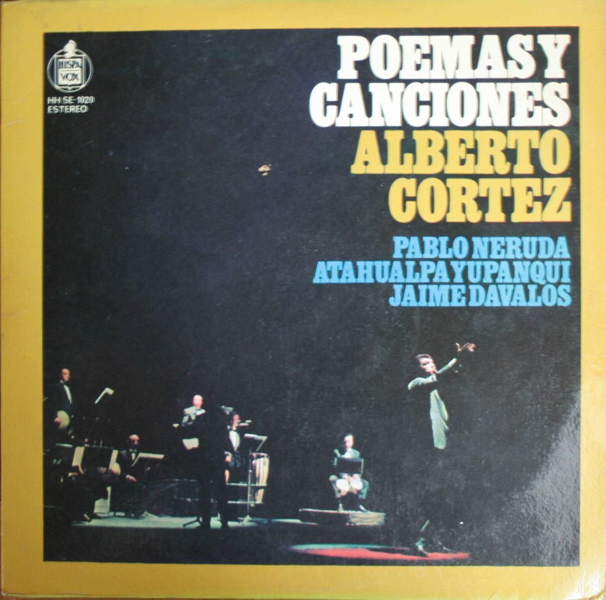 Resultado de imagen de Poemas y Canciones (1967) alberto cortez play list