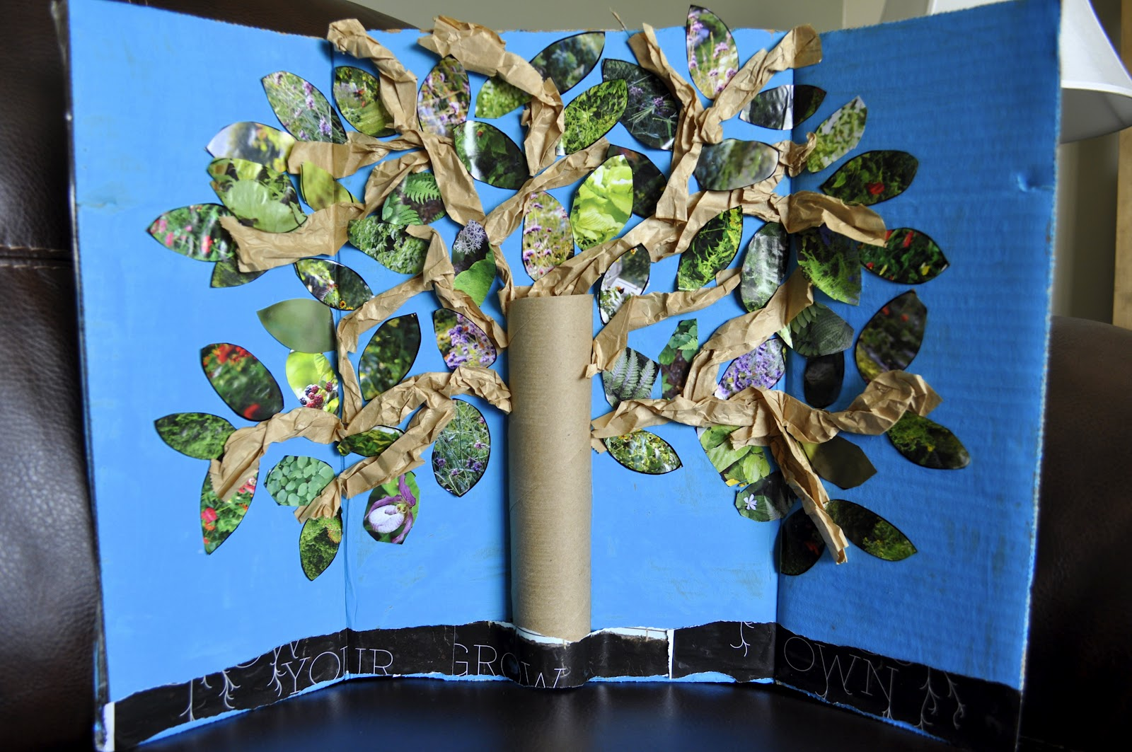 Earth Day Inspired Tree Craft