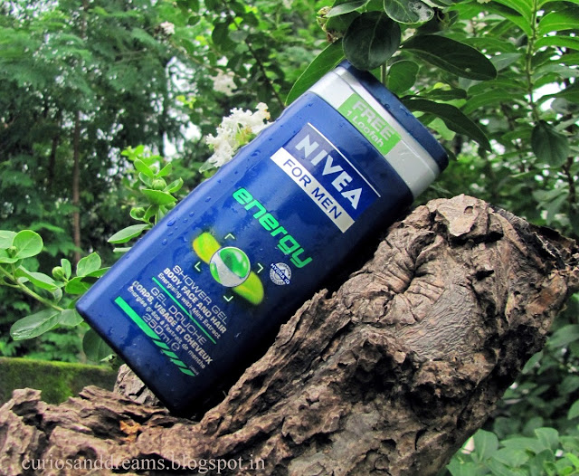 Nivea Energy Shower Gel For Men Review