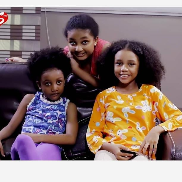 Chisom, Chidinma And Chinenye Oguike And Their Mother
