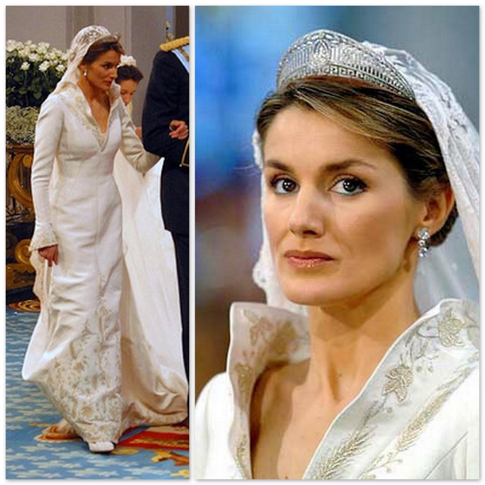 princess letizia wedding dress | Wedding
