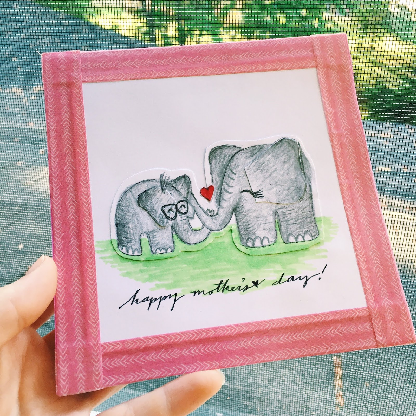 100 cards in 100 days // DAY 100: Happy Mother's Day!