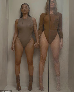 Kim Kardashian battles sister khloe in battle of the booty