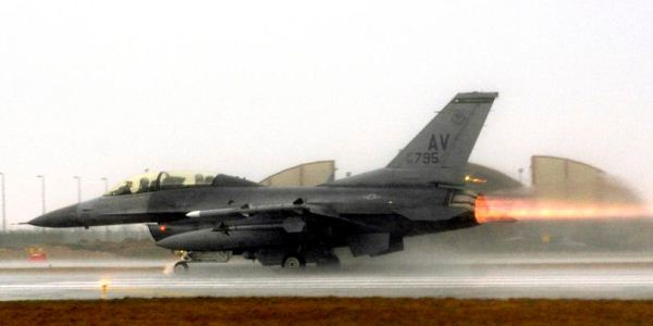 F-16 Angkatan Udara AS