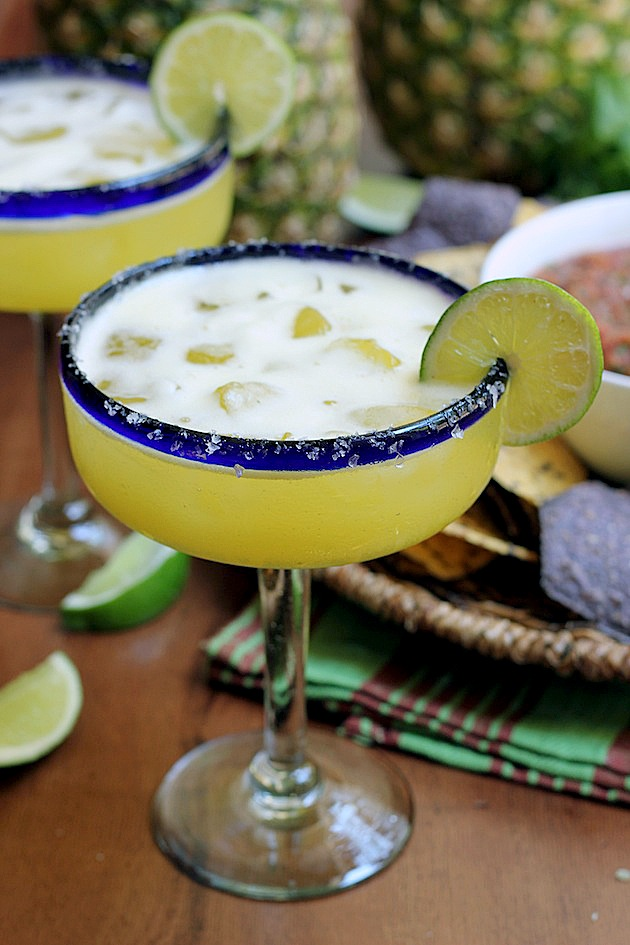 Orange Pineapple Margaritas | Savor Home