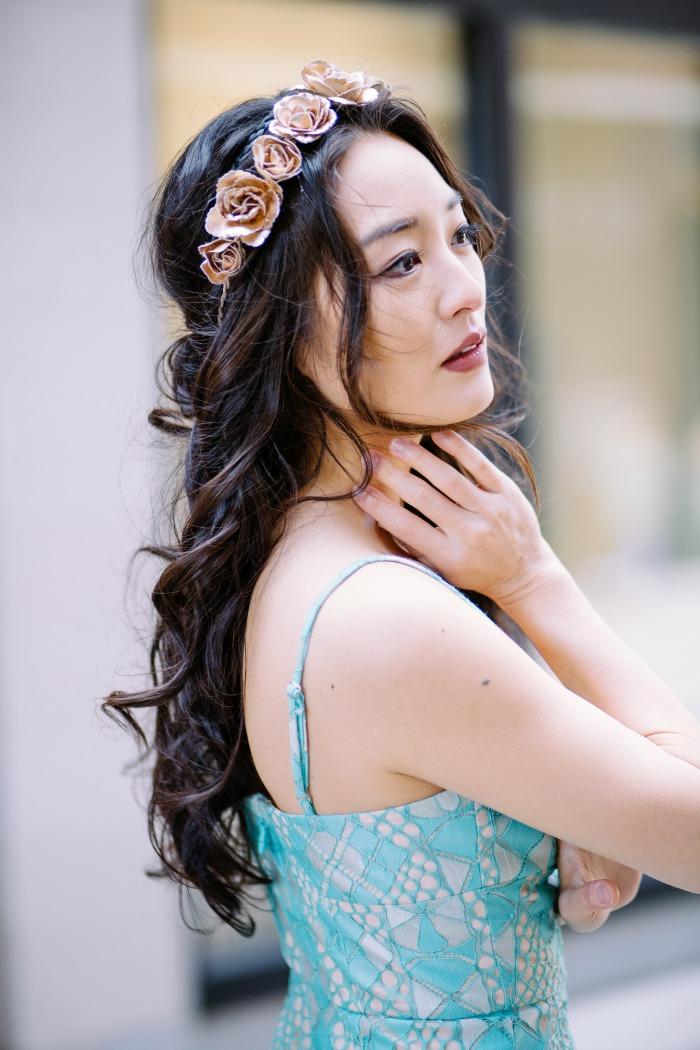gorgeous floral headpieces
