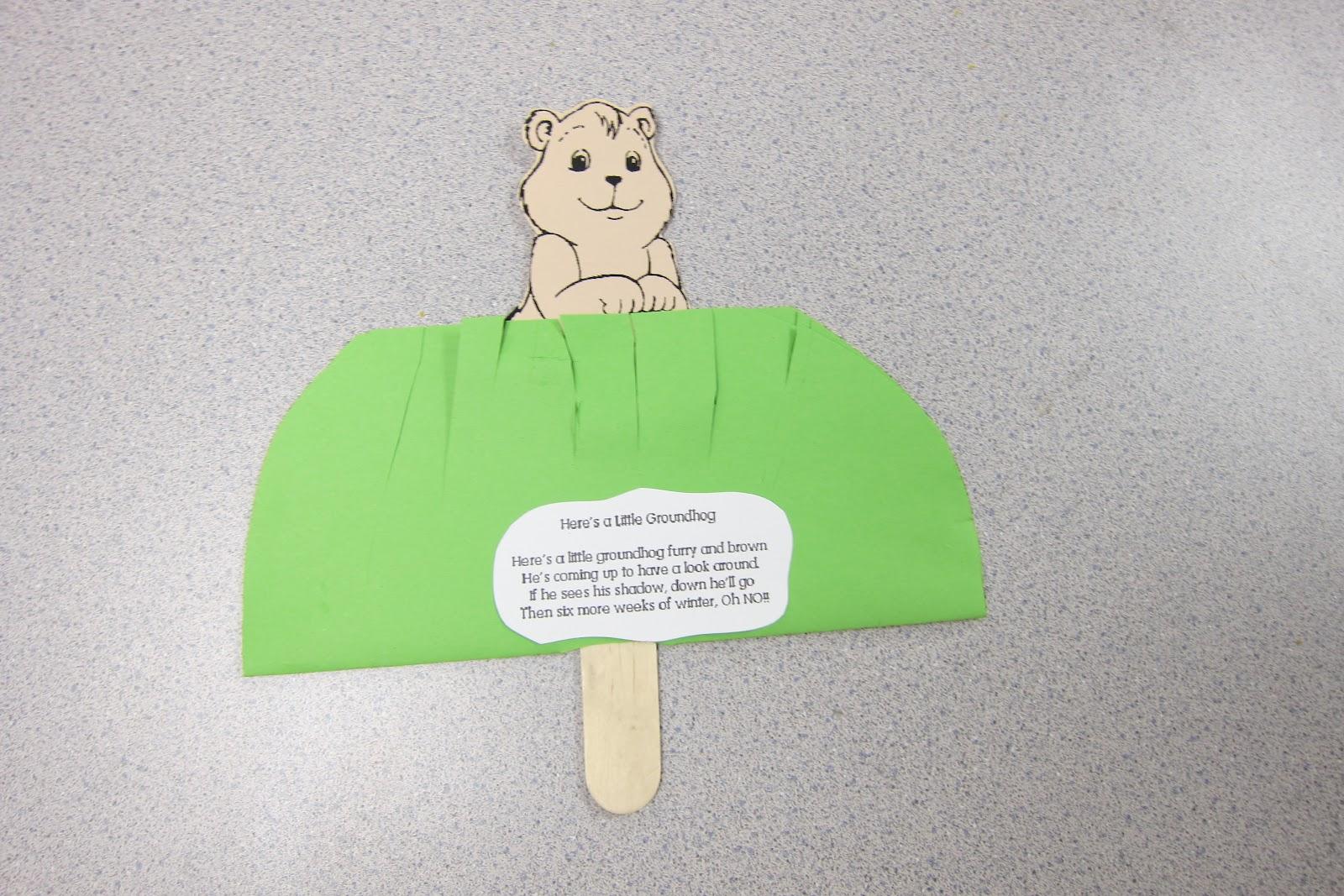 Mrs Karen S Preschool Ideas Groundhog S Day