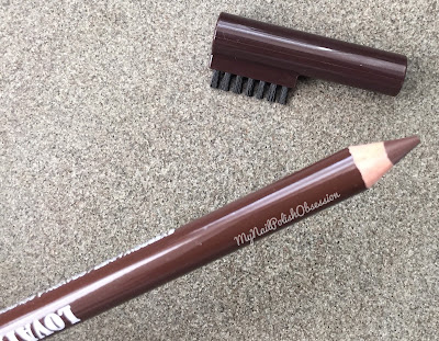 NYC New York Color Lovatics by Demi Lovato; 001 Medium Brown Eyebrow Liner