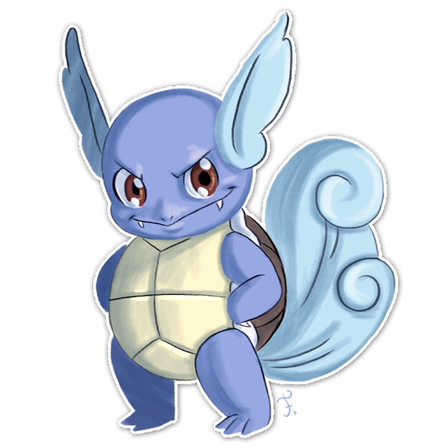 Wartortle: 8% base-capture rate