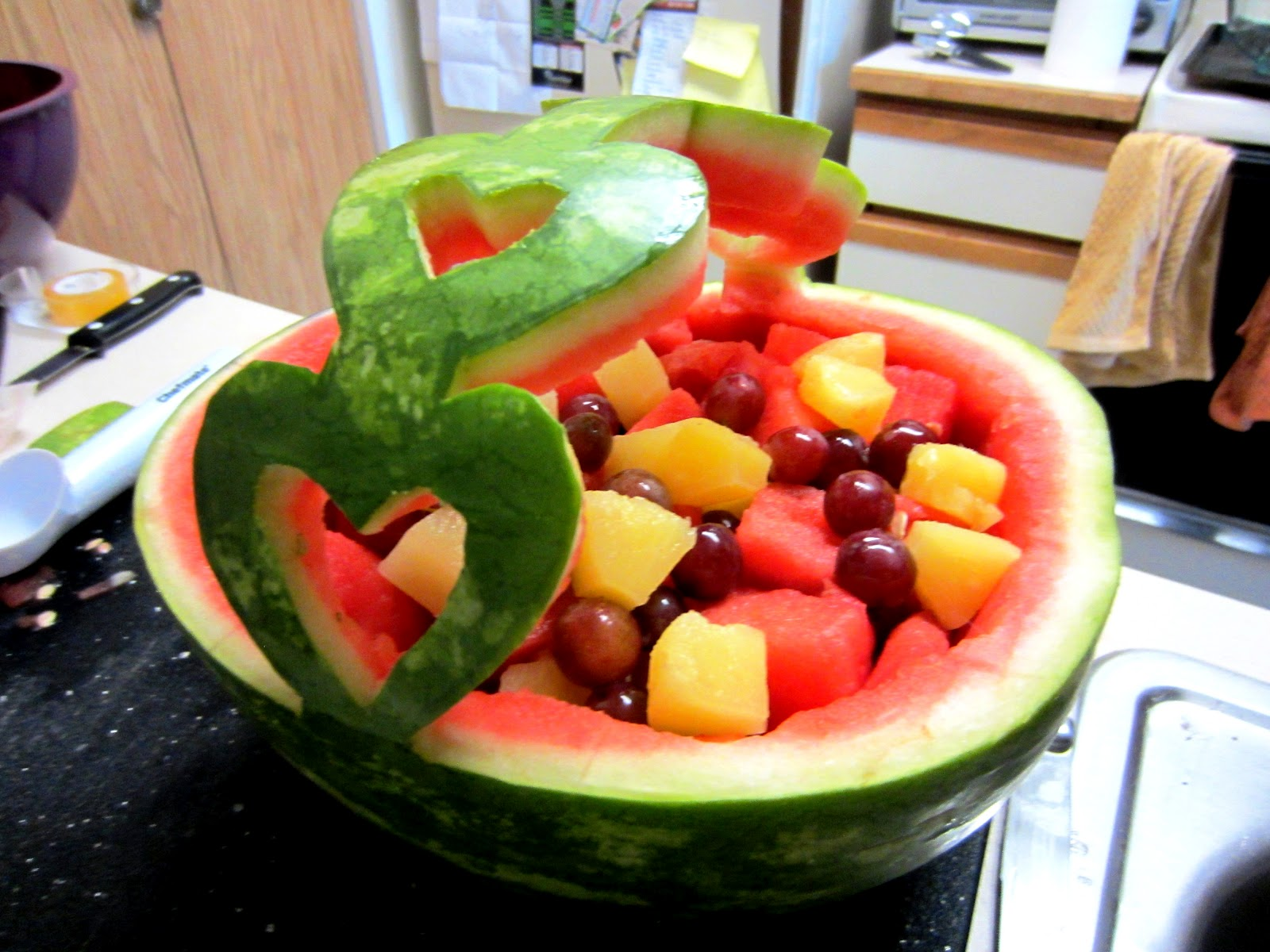craigsoup Photo HowTo Watermelon Fruit Bowl