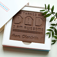 Father's Day 2017 gift guide chocolate card