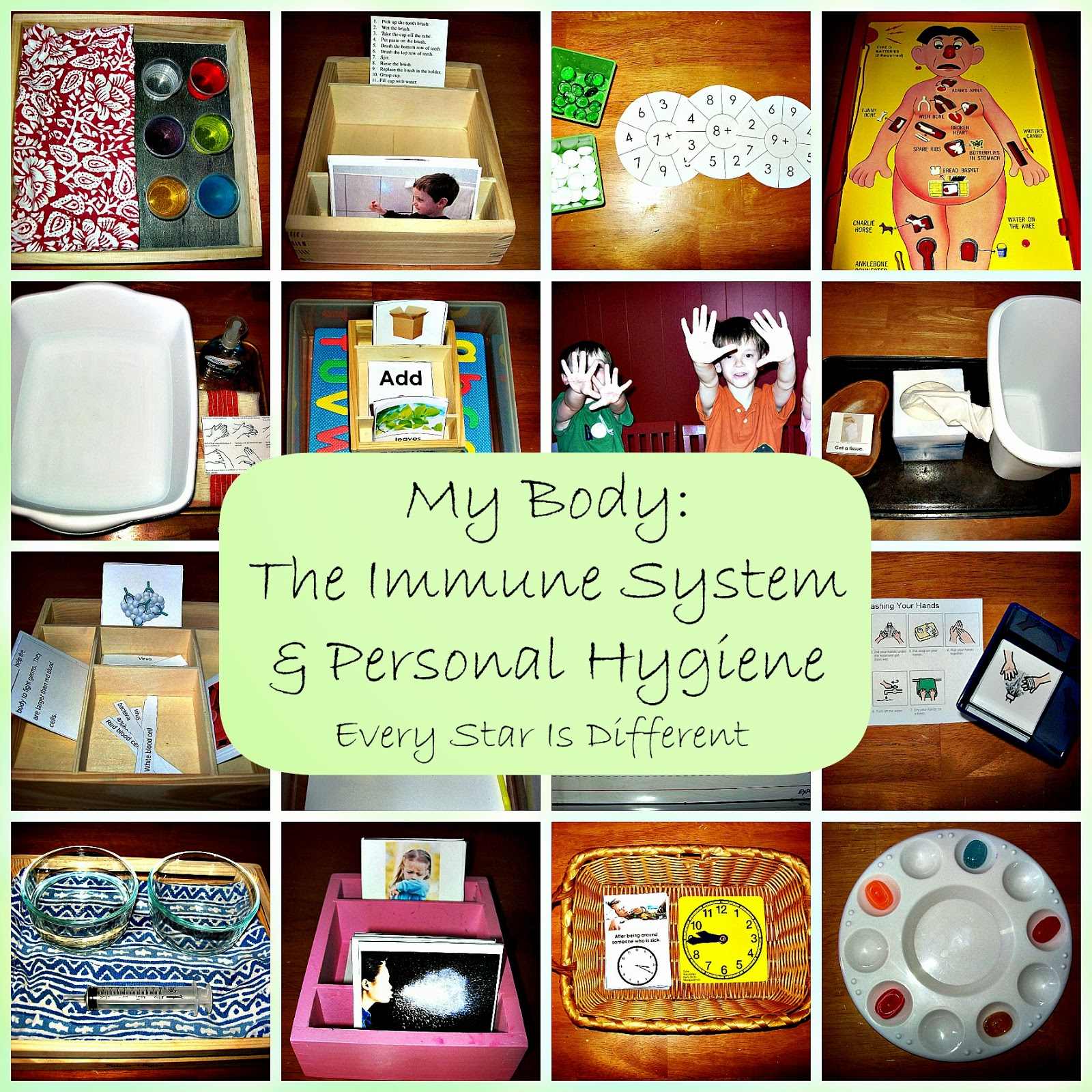 Every Star Is Different My Body Unit W Free Printables Learn Amp Play Link Up
