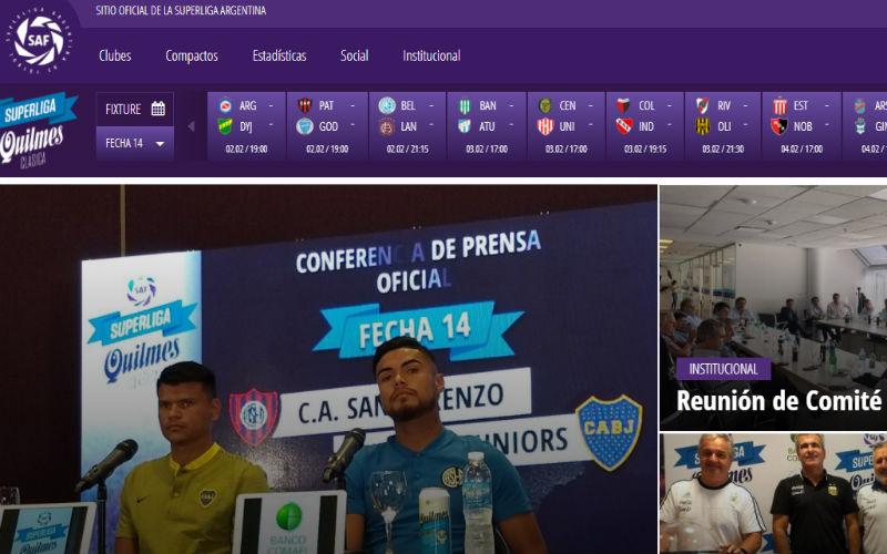 superliga argentina futbol