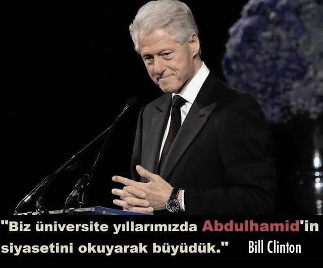 başkan, ABD, USA, bill clinton, 2. Abdülhamid, Abdülhamid, Osmanlı, siyaset,
