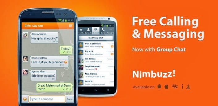 Nimbuzz Messenger / Free Calls - Android Aplication Free Download | By Uday