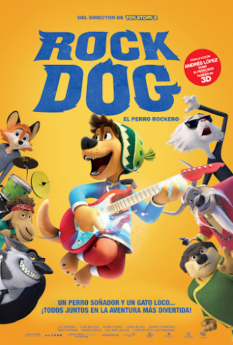 Rock Dog (BRRip 720p Español Latino) (2016)