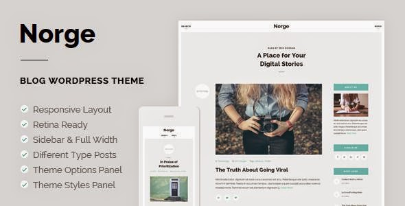 Best Responsive Blog WordPress Theme