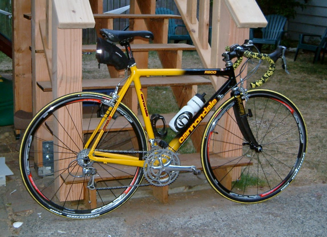 Ryan's Rebuilds: 1998 Cannondale Road bike Team Saeco Edition
