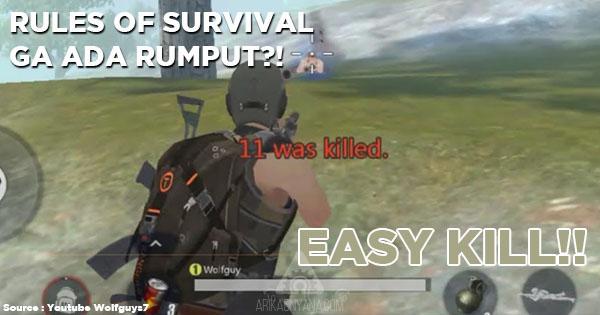 Begini Cara Menghilangkan Rumput Pada Game Rules Of Survival
