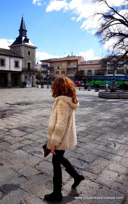 Abrigo borreguito blanco