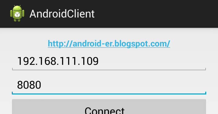Android Er Implement Socket On Android To Communicate