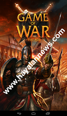 Jurus ampuh mengisi gold gratis game of war fire age dari android