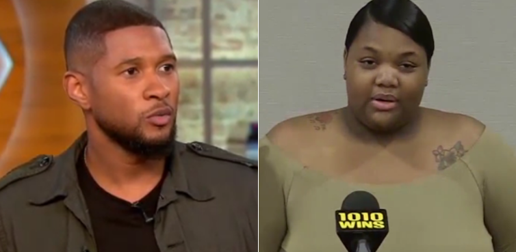 Usher denies having s*x with woman involved in herpes suit