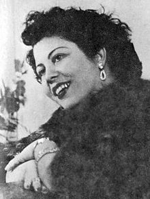 Marika Ninou - 1918 – 23 February 1957 - 'Rebetissa'