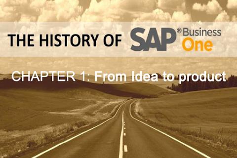 Lịch sử SAP Business One (Phần 1): Từ ý tưởng đến hiện thực