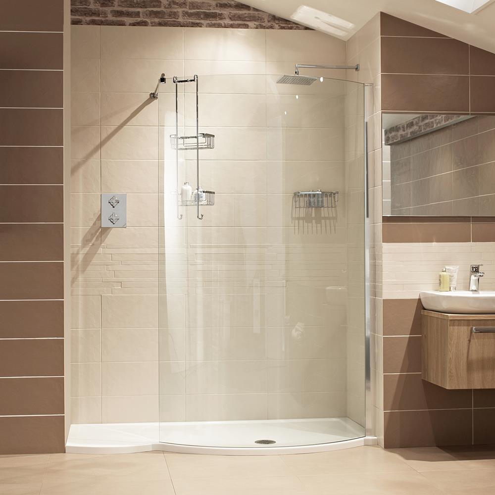 SHOWER ENCLOSURES ~ Fancy Glass and Mirror
