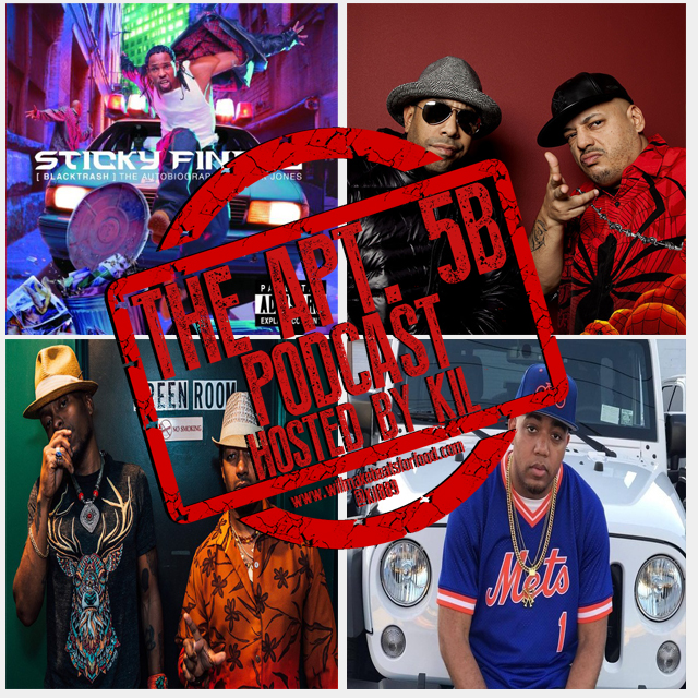 Apt. 5B Podcast Hosted by Kil: Most Slept On MC's, Groups, Albums & Producers