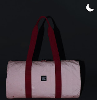 Reflective Pink Duffle Bag