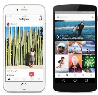 Instagram, 11 Mayıs 2016 itibariyle imajını değiştirdiğini açıkladı