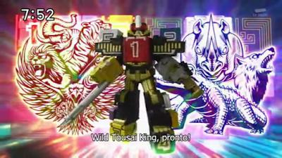 Dobutsu Sentai ZyuOhGer - Wild Tousai King