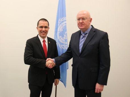 Rusia ratifica solidaridad con Venezuela ante agresiones injerencistas