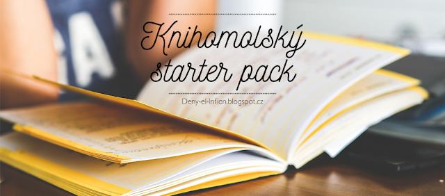 Knihomolský starter pack