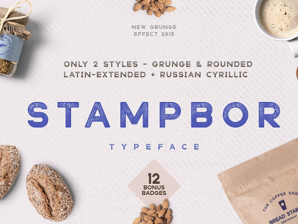 Download Stampbor Vintage Typeface Free