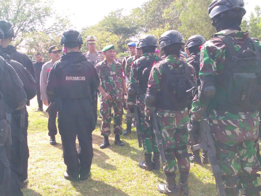 Danrem 033/WP Cek Kesiapan Pasukan PAM VVIP Wakil Presiden