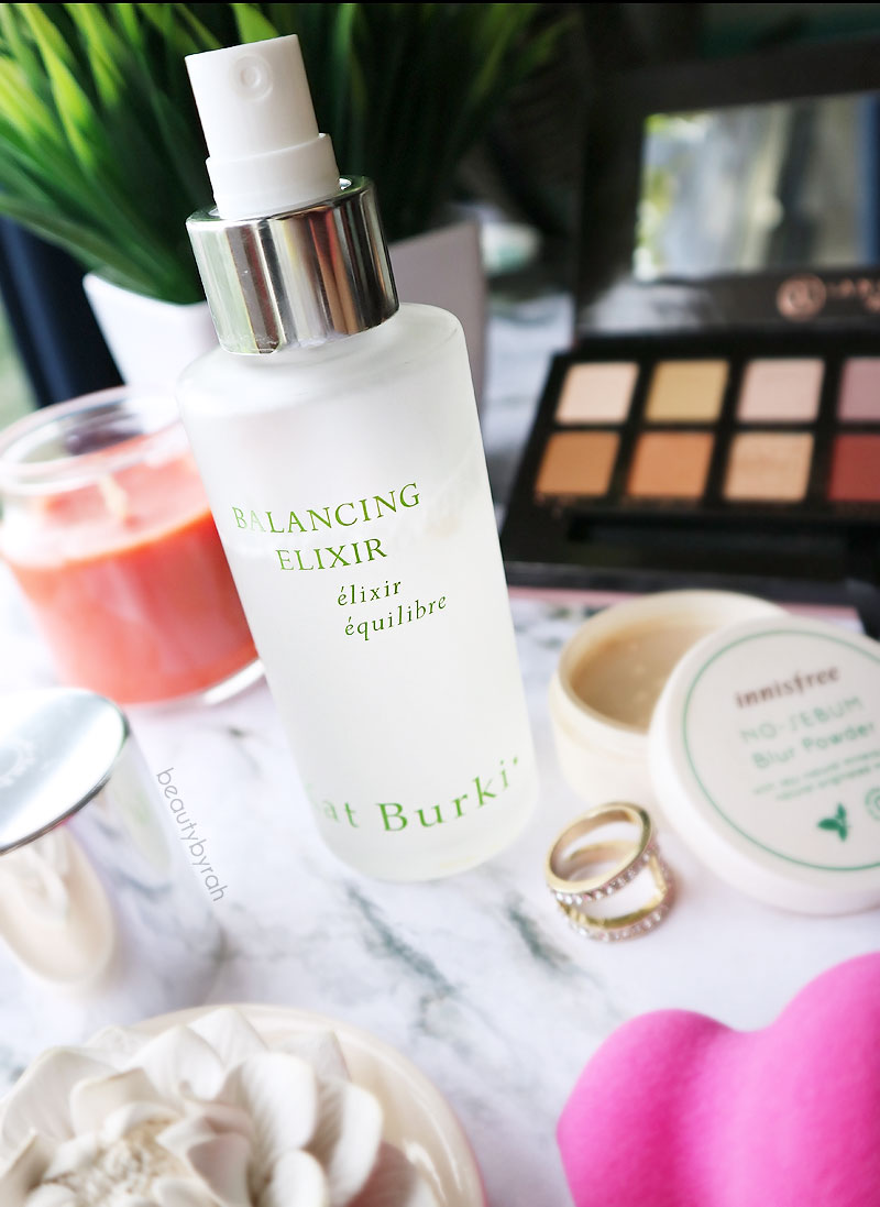 January Favourites Kat Burki Balancing Elixir Facial Spray in Cucumber