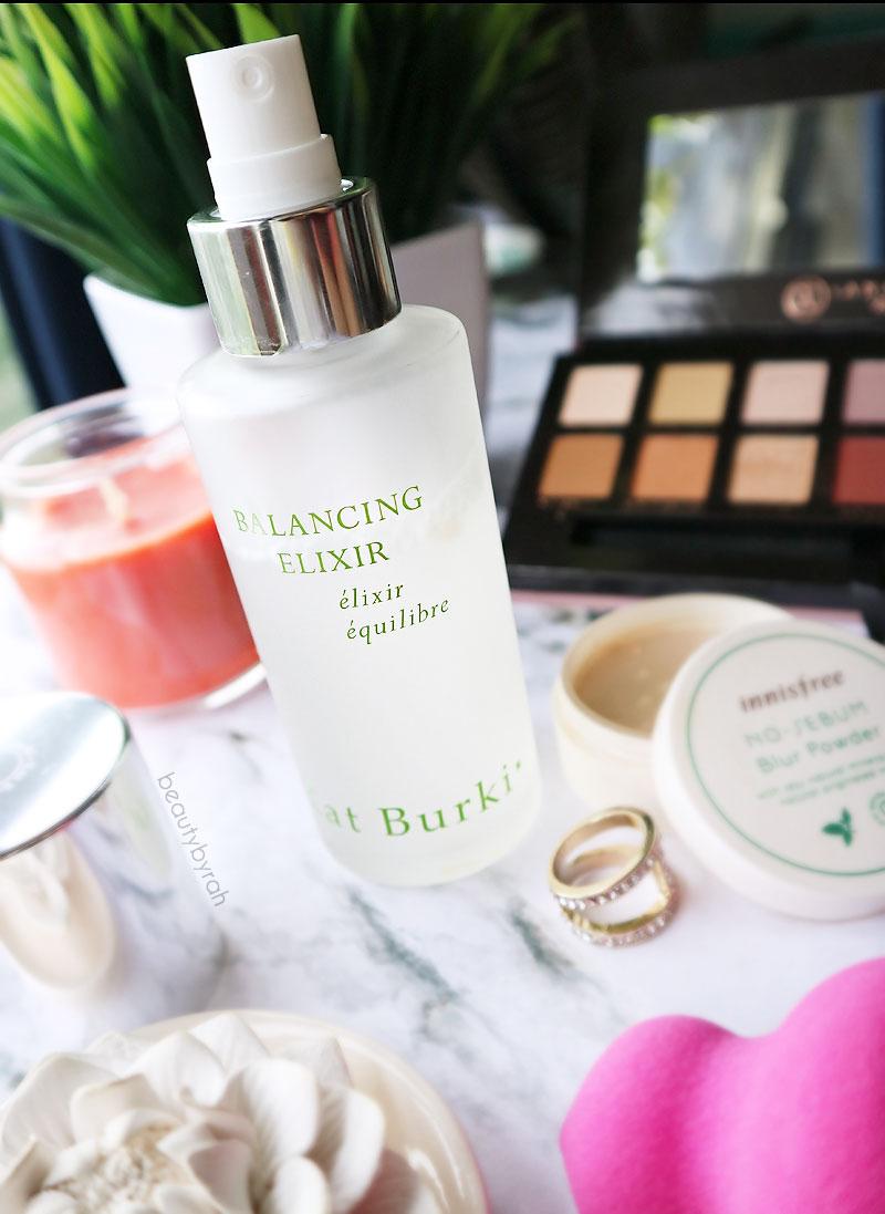 January Favourites Kat Burki Balancing Elixir Facial Spray in Cucumber