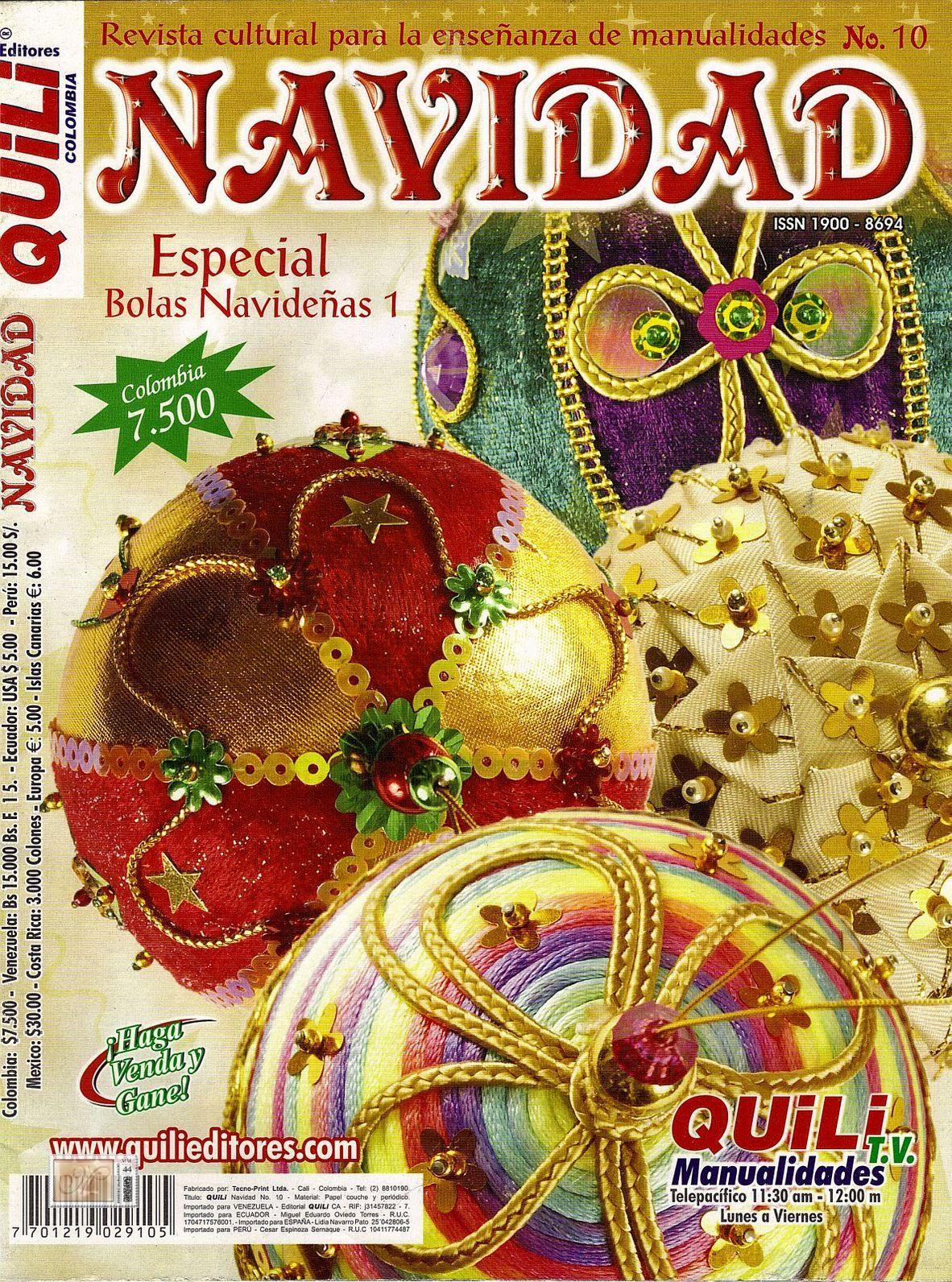 Quili Navidad Nro. 10: Especial Bolas Navideñas