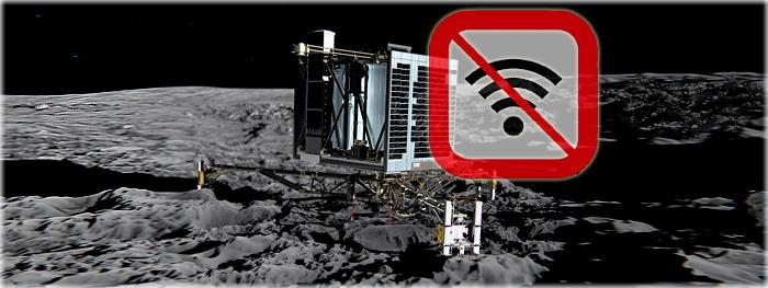 sonda Philae perde contato na superfície do cometa