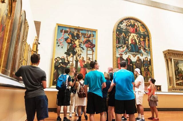 Tour pela Galeria Accademia em Florença