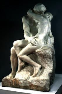 'El beso' de Auguste Rodin.
