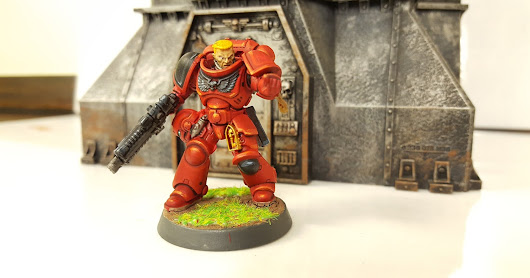 Painting Guide: Blood Angels, perfecting the colour scheme