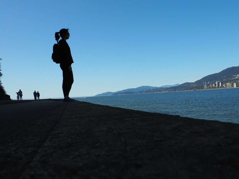 Stanley park sea wall